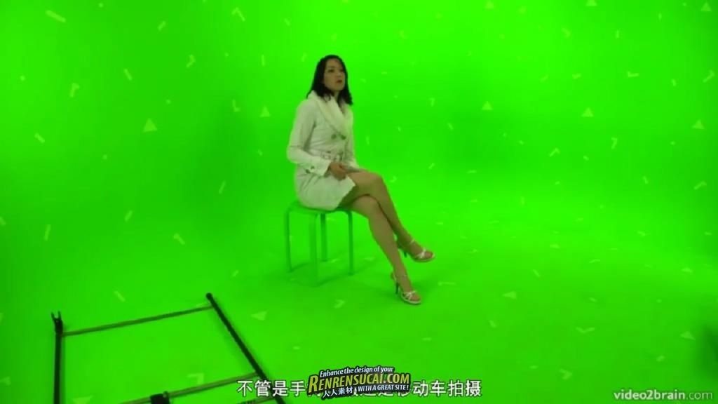 【第三期中文翻译教程】《绿屏拍摄虚拟场景合成影片高级教程 第二季》人人CG出品