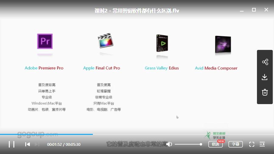 王海波-Premiere剪辑基础