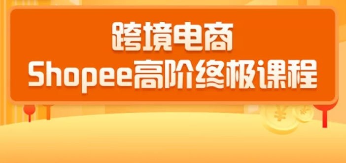2020跨境电商蓝海新机会-shopee大卖特训营:高阶终极课程(16节课)